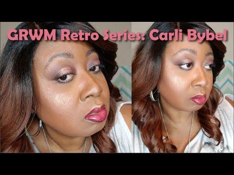 "Yaa's GRWM ""Retro Series"" Carli Bybel Palette & More! thumbnail"