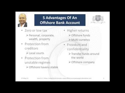 Offshore Account Dubai | 5 Advantages Of A Offshore Account