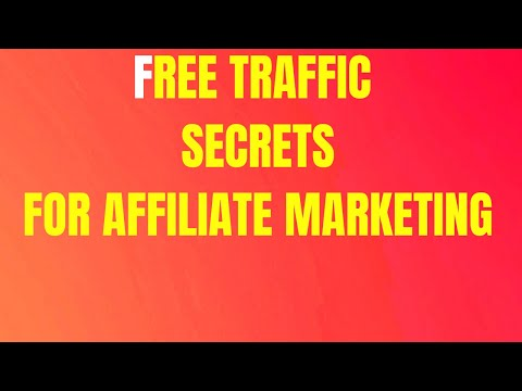 How To Make Money With Affiliate Marketing Using Free Traffic Sources thumbnail