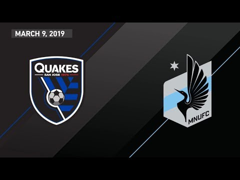 San Jose Earthquakes vs. Minnesota United FC | HIGHLIGHTS - March 9, 2019