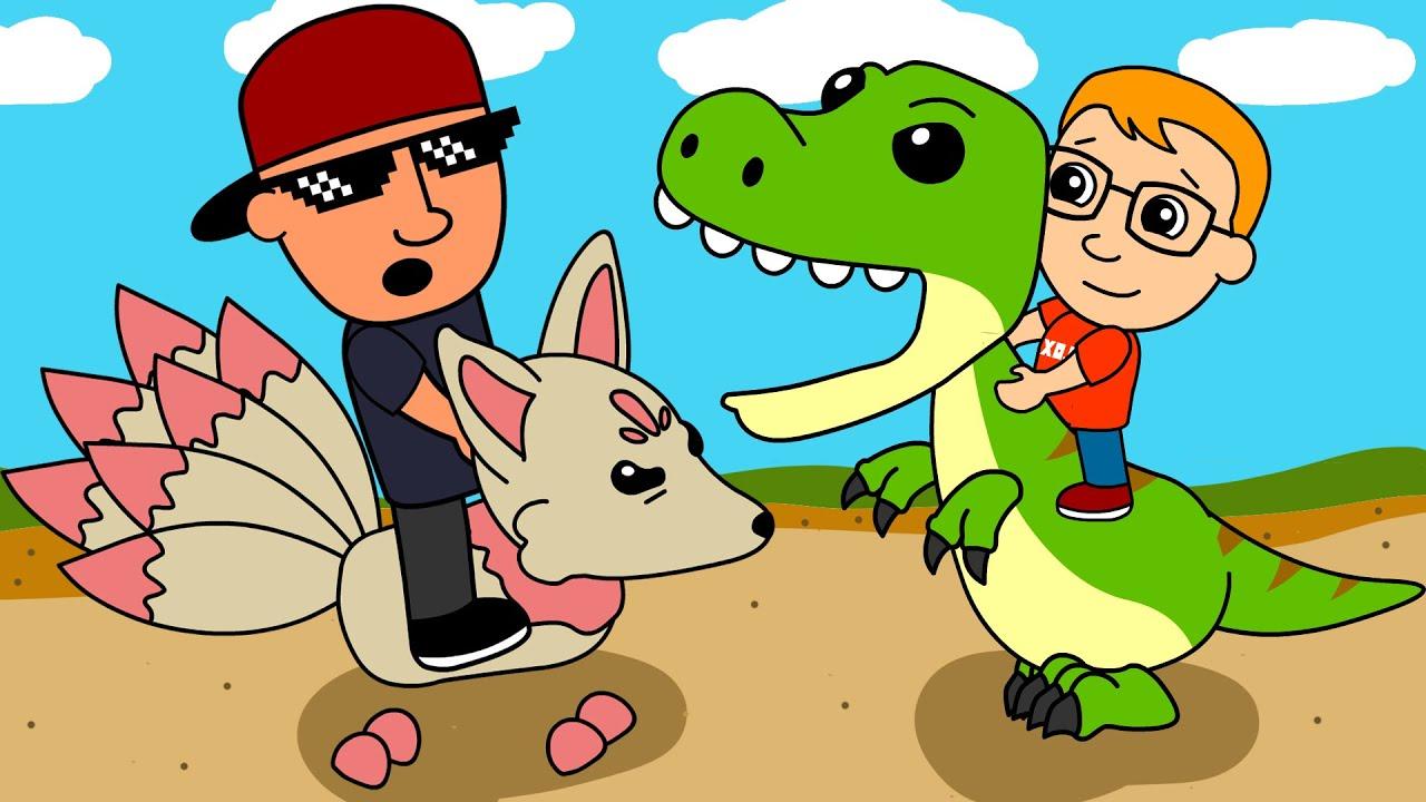 Dinosaurs Adopt Me