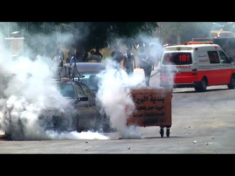 Clashes erupt between Palestinians and Israeli army near Beit El