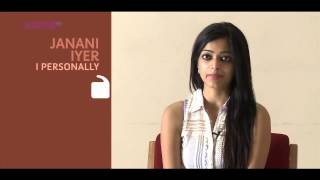 I Personally -  Janani Iyer - Part 1 - Kappa TV