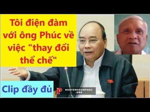 Toàn bộ bình luận của TV256 về cuộc điện đàm với ông Nguyễn Xuân Phúc