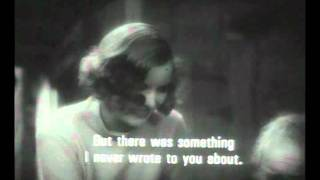 Greta Garbo (Anna Christie - 1930 - extract) :  Anna gets angry !!!
