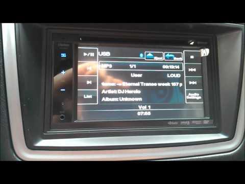 Clarion VX401 - 11  Bluetooth Audio Playback mov | FunnyDog TV