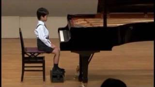 2011PTNA 地区本選 奨励賞 小2(8歳)