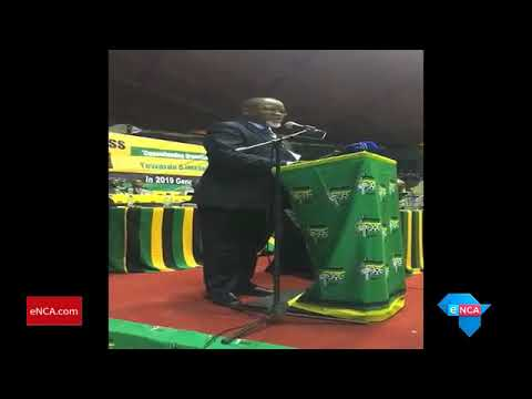Mantashe heckled at the ANC consultative conference