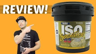 Ultimate Nutrition ISO-SENSATION 93 Review