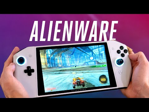 Alienware turned a gaming PC into a Nintendo Switch