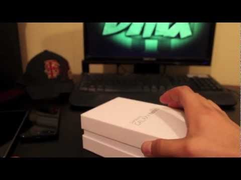 Verizon Galaxy Note II Unboxing And Review