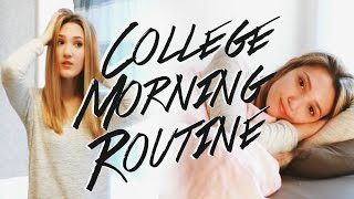 College Morning Routine 2016! How to Save Time in the Morning!