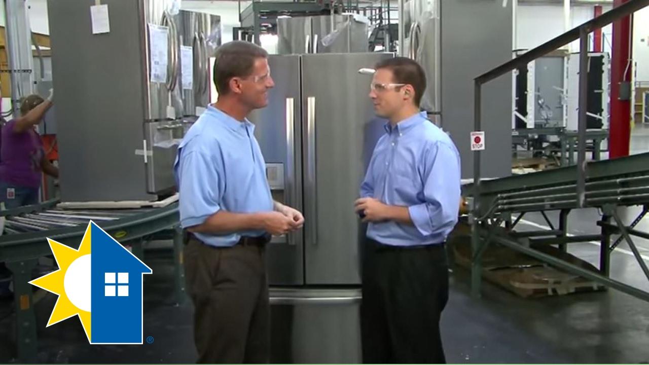 Refrigerator appliance assembly