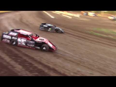 Salina Speedway SalinaUsedCars.Com IMCA Modifieds *Heat 2* 7-6-18