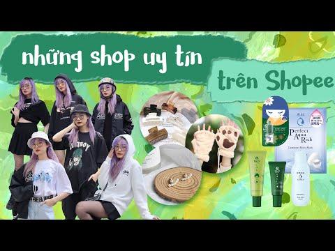🛍 SHOPEE REVIEW 🛍 // Những SHOP UY TÍN trên Shopee mà tớ cực thích   Miha Chan✨