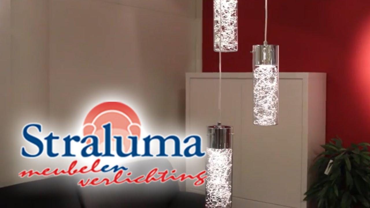 Verstelbare hanglamp glas salontafel | 23220009 | Straluma Meubelen ...
