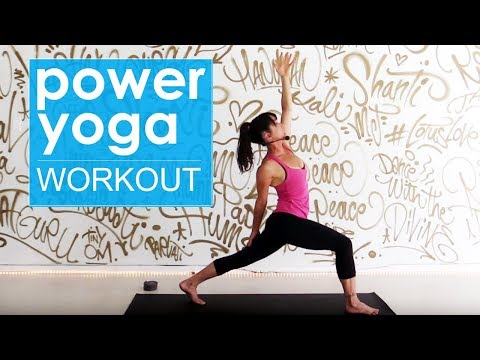 Power Yoga Workout ~ 30 Minute High Intensity