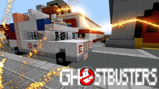 Ghostbusters: Afterlife Trailer In Minecraft