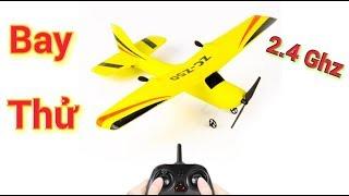 Mở Hộp và bay thử máy bay cánh bằng giá rẻ sóng 2.4Ghz