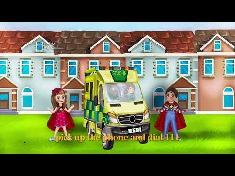 111 Ambulance Song - #1 Hit Kids Song - Angel Star Publishing House