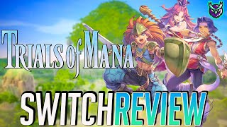 Trials of Mana Switch Review - A Worthy Remake of Seiken Densetsu 3? #Ad (Video Game Video Review)