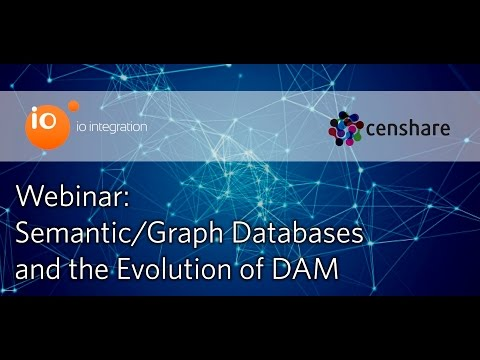 Webinar: Semantic/Graph DataBases and the Evolution of Digital Asset Management