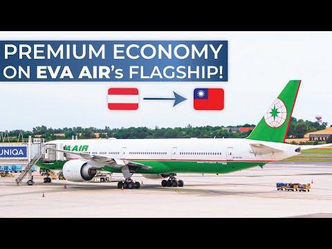 TRIPREPORT | EVA Air (PREMIUM ECONOMY) | Boeing 777-300ER | Vienna - Taipei Taoyuan