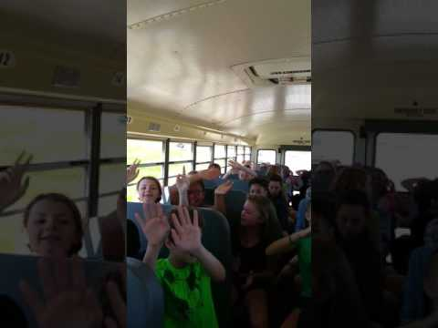 Bus ride to Discovery World Pilgrim Park Middle School