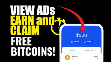 VIEW ADS AND EARN BTC! Claim Every 4 Seconds!