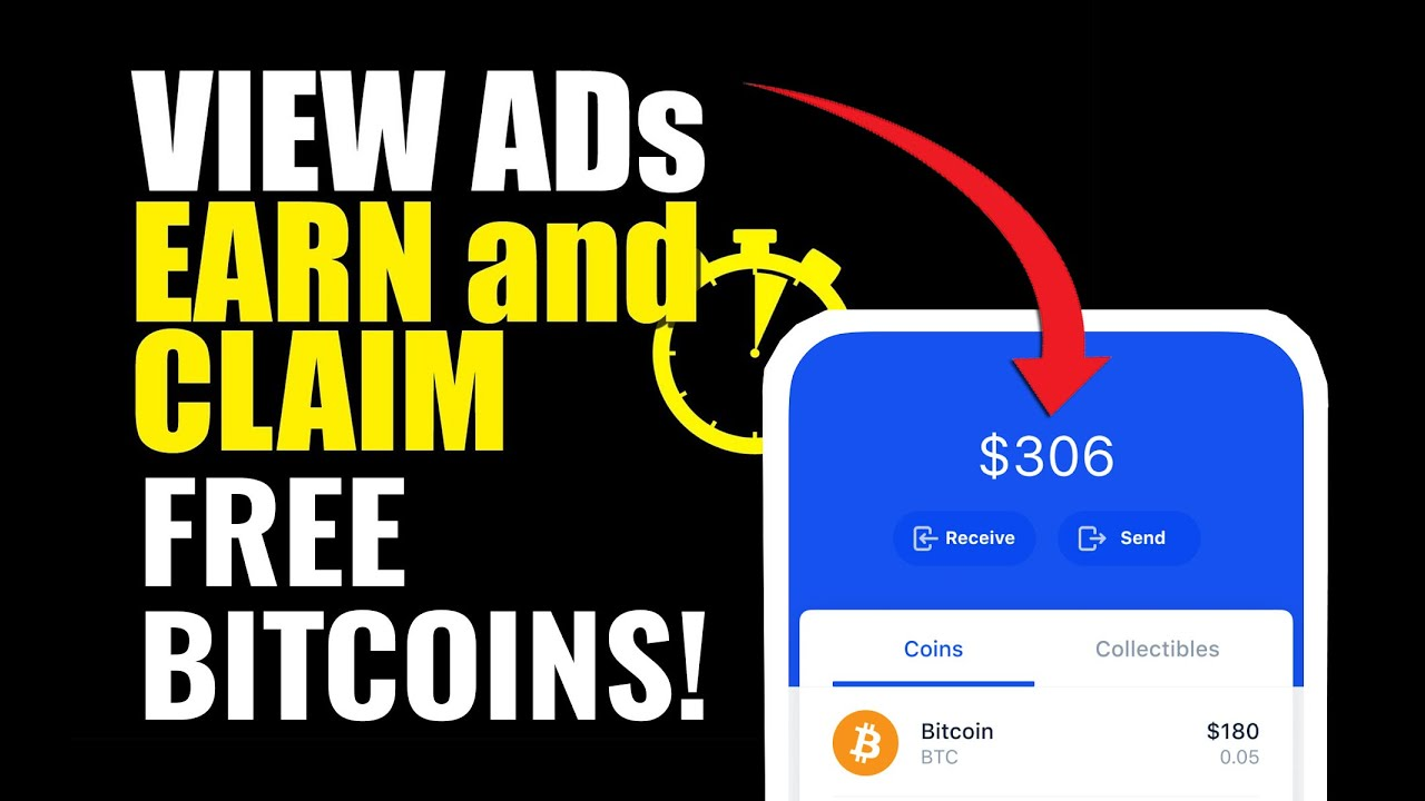 VIEW ADS AND EARN! Free BTC Claim Every 4 Seconds! (Rhett Crypto 800cc)