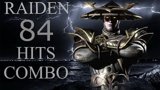 Raiden 84 Hits Combo