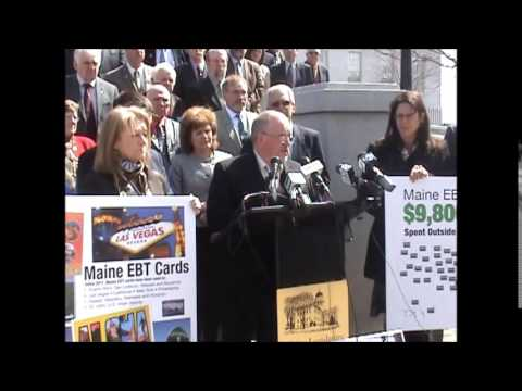 Welfare Reform News Conference