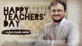 To Sagar Shah, with love - Happy Teachers' Day