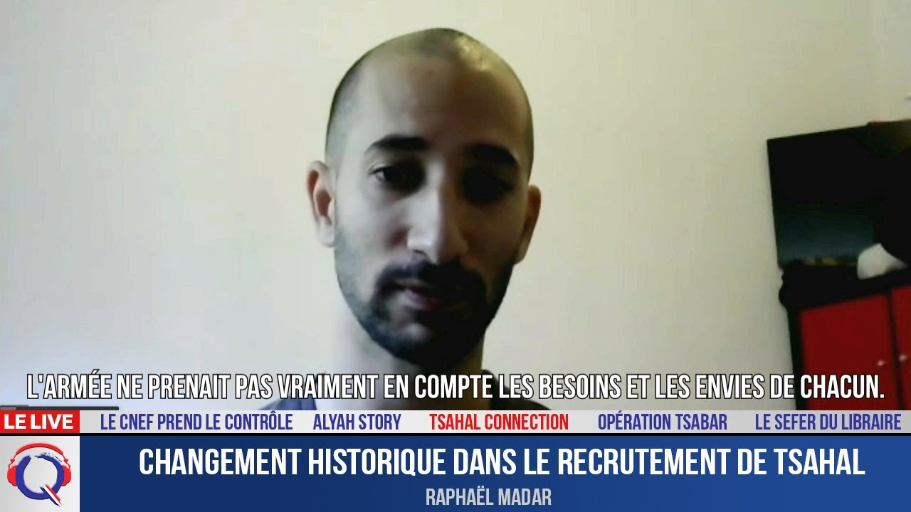 Changement historique dans le recrutement de Tsahal - Tsahal#46