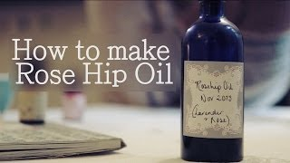A Handmade Cottage - How to make Rose Hip Oil (+anti-ageing facial oil)