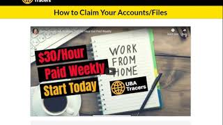 UBA Work From Home Online Job   Submitting  Forms