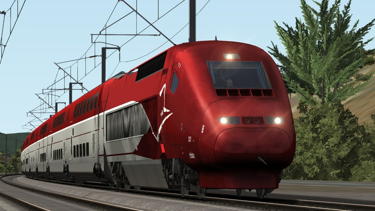 train simulator 2018 tgv marseille to avignon route tgv thalys pbka duplex hd youtube. Black Bedroom Furniture Sets. Home Design Ideas