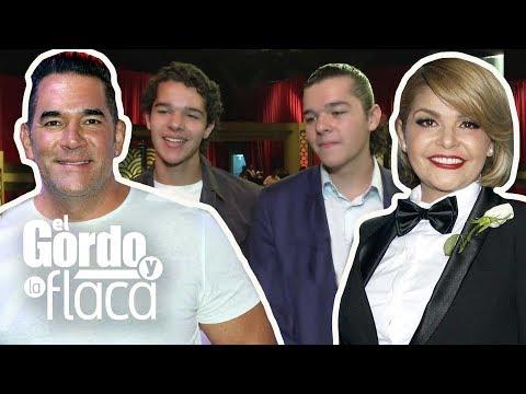 Los gemelos de Eduardo Santamarina e Itatí Cantoral ya saben qué profesión escogerán | GYF