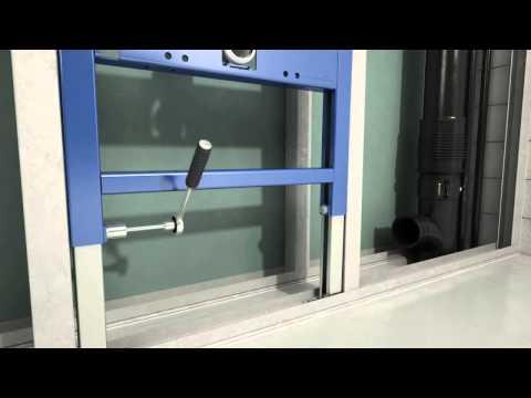 Подвесной унитаз Geberit Duofix Delta Cistern 12 см   сантехника