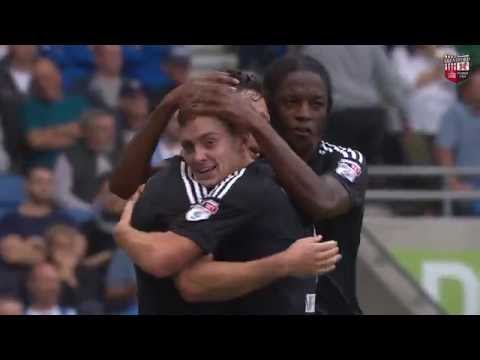 Match Highlights: Brighton and Hove Albion 0 Brentford 2