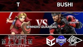 Midwest Mayhem Ultimate - Winners Quarters - T (Young Link) Vs. Bushi (Snake)