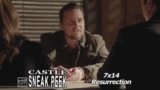 "Castle 7x14 Sneak Peek # 1 ""Resurrection"" (HQ)  3XK Look Alike Season 7 Episode 14 Sneak 