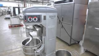 Hobart HL600 60 Qt. Commerical Legacy Mixer, 2 Bowls, 4 Attachments, Factory Refurbished