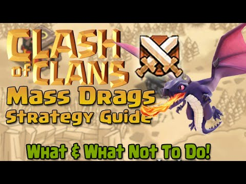 Clash of Clans | Mass Dragon Strategy Guide!!!