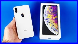 Apple iPhone XS Max 256gb Silver Unboxing #iPhoneXSMax #iPhoneXSMaxSilver