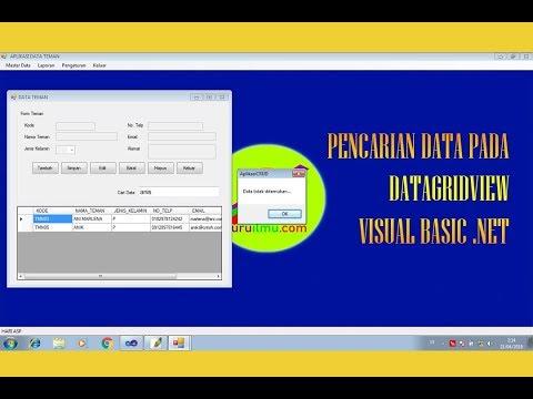 Cara Membuat Tabel Di Visual Basic