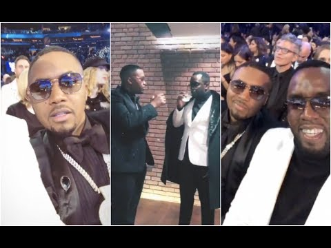 Diddy Takes Nas As His Date To The Grammy Awards