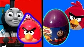 Angry Birds Toy Surprise Thomas Tank Engine & Friends Easter Eggs Holiday Edition by Disneycollector