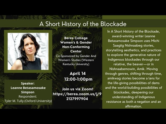 A Short History of the Blockade