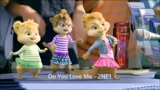 Do You Love Me - 2NE1 ( Version Chipmunks)